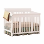 Storkcraft Tuscany 4 in 1 Convertible Crib in White