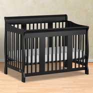Storkcraft Tuscany Convertible Crib in Black