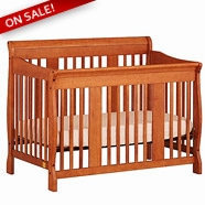 Storkcraft Tuscany Convertible Crib in Cognac