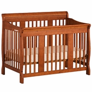 Storkcraft Tuscany Convertible Crib in Oak