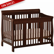 Storkcraft Tuscany Convertible Crib Sets in Espresso