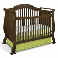 Storkcraft Valentia Crib in Dove Brown