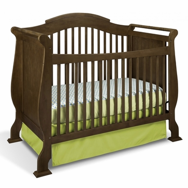 storkcraft valentia 4in1 convertible crib in dove brown click to enlarge