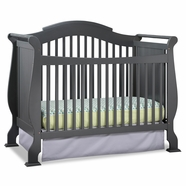 Storkcraft Valentia Crib in Gray