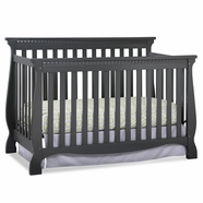 Storkcraft Venetian Crib in Gray