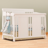 Storkcraft Verona Convertible Crib in White