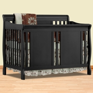 Storkcraft Verona Convertible Crib in Black