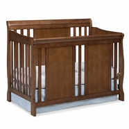 Storkcraft Verona Convertible Crib in Dove Brown