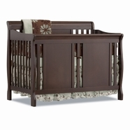 Storkcraft Verona Convertible Crib in Espresso