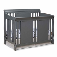 Storkcraft Verona Convertible Crib in gray