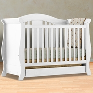 Storkcraft Vittoria Convertible Crib in White