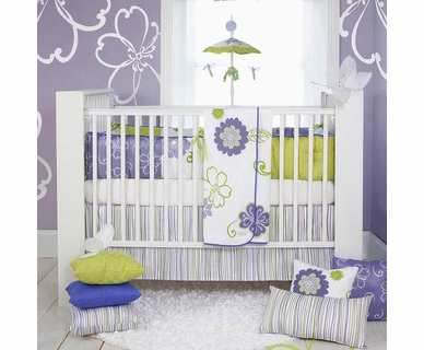 Sweet Potato Lulu 4 Piece Baby Crib Bedding Set