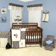 Sweet Safari Blue Crib Bedding Collection by Trend Lab