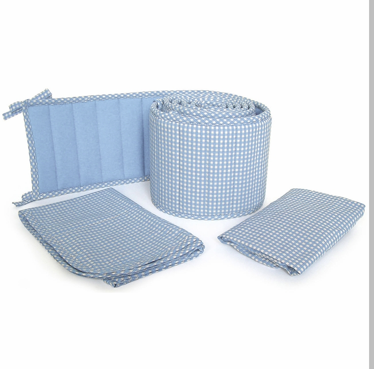Tadpoles Bedding Collection Tadpoles Classics Blue Gingham Crib Bedding Collection 2 Jpg