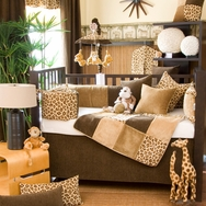 Tanzania Crib Bedding Collection by Glenna Jean