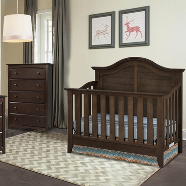 Thomasville Southern Dunes 2 Piece Nursery Set 4 In 1 Convertible Crib And