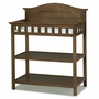 Thomasville Southern Dunes Dressing Table with Pad in Dove Brown