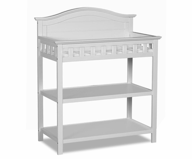 Thomasville Southern Dunes Dressing Table with Pad in White