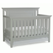 Ti Amo Carino Convertible Crib in Misty Gray