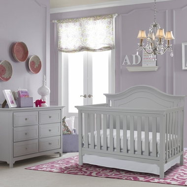 Ti Amo Catania 2 Piece Nursery Set Convertible Crib And
