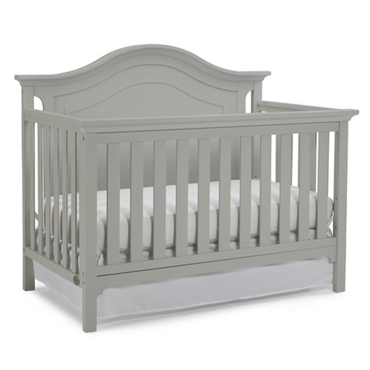 baby new nursery full in furniture white itm toddler cribs crib bed convertible
