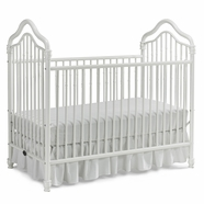Ti Amo Crib Crib in White