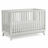 Ti Amo Moderna Crib in Mist Gray