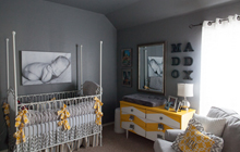 Traditional Made Modern Style Nurseries: Bring In The Old With The New!