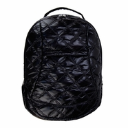 Trend Lab Backpack Diaper Bag in Black Quilted Voyager