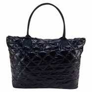 Trend Lab Carryall Tote Diaper Bag in Black Mod