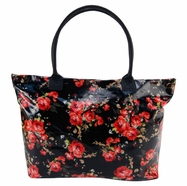 Trend Lab Carryall Tote Diaper Bag in Garden Rose Floral