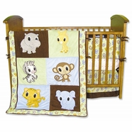 Trend Lab Chibi 4 Piece Baby Crib Bedding Set