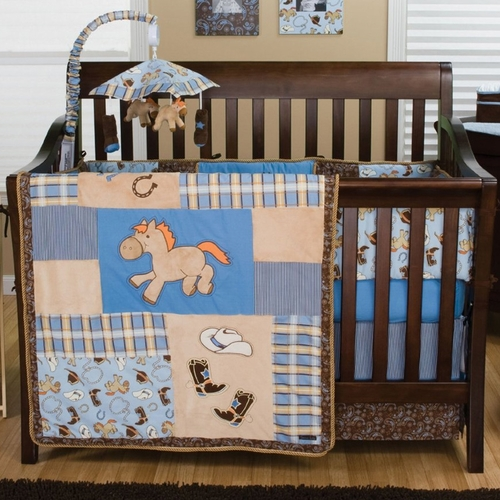 Trend Lab Cowboy Baby Bedding Collection Free Shipping
