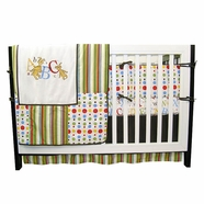 Trend Lab Dr. Seuss ABC 4 Piece Baby Crib Bedding Set