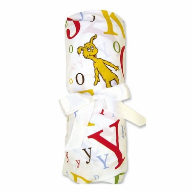 Trend Lab Dr. Seuss ABC Fitted Crib Sheet