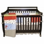 Trend Lab Dr. Seuss Cat in the Hat 4 Piece Baby Crib Bedding Set