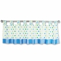 Trend Lab Dr. Seuss Oh! The Places You'll Go! Window Valance in Blue