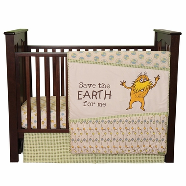 Trend Lab Dr. Seuss The Lorax 3 Piece Crib Bedding Set