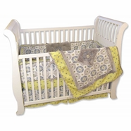 Trend Lab Monaco 4 Piece Baby Crib Bedding Set