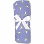 Trend Lab Nantucket Blue Fitted Crib Sheet