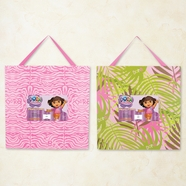 Trend Lab Nickelodeon Dora the Explorer Exploring the Wild Frame Set