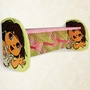 Trend Lab Nickelodeon Dora the Explorer Exploring the Wild Shelf with Pegs