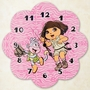 Trend Lab Nickelodeon Dora the Explorer Exploring the Wild Wall Clock