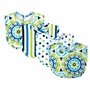 Trend Lab Waverly Solar Flair Bouquet 4 Pack Bibs