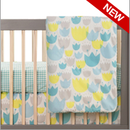 Tulip Garden Bedding Collection by Babyletto