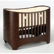 Tulip Leander Crib in Walnut