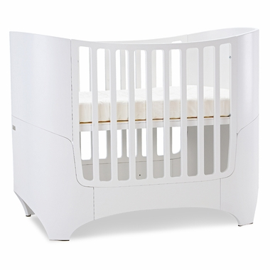tulip leander crib conversion kit in white click to enlarge - Crib Conversion Kit