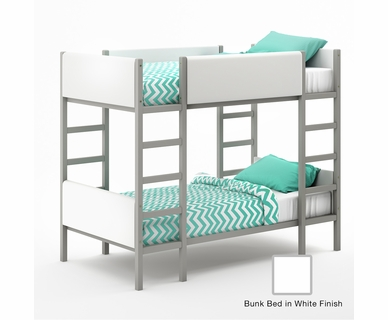 Tulip Soren Bunk Bed in White