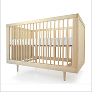 Ulm Crib Collection by Spot On Square