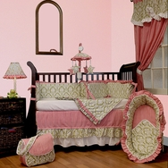 Versailles Green Crib Bedding Collection by Hoohobbers